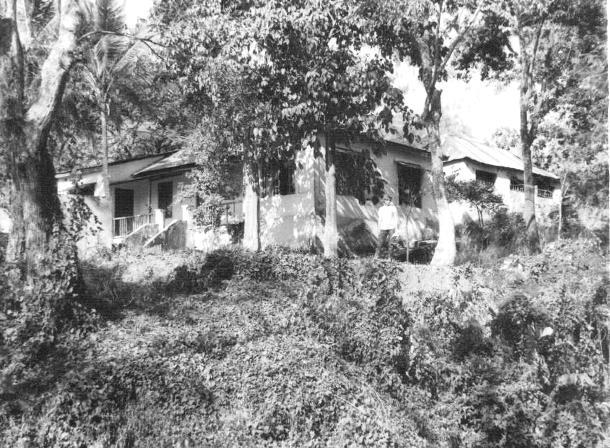 Minha segunda residência em Lahane, acima do Hospital e ao nível do Quartel Militar.