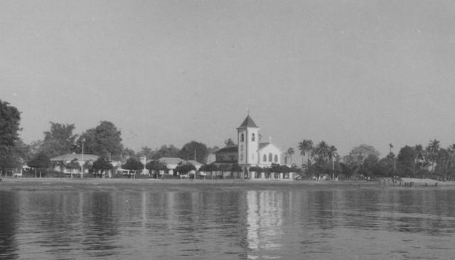 Igreja de Motael, onde o meu filho Rui Paulo foi baptizado.