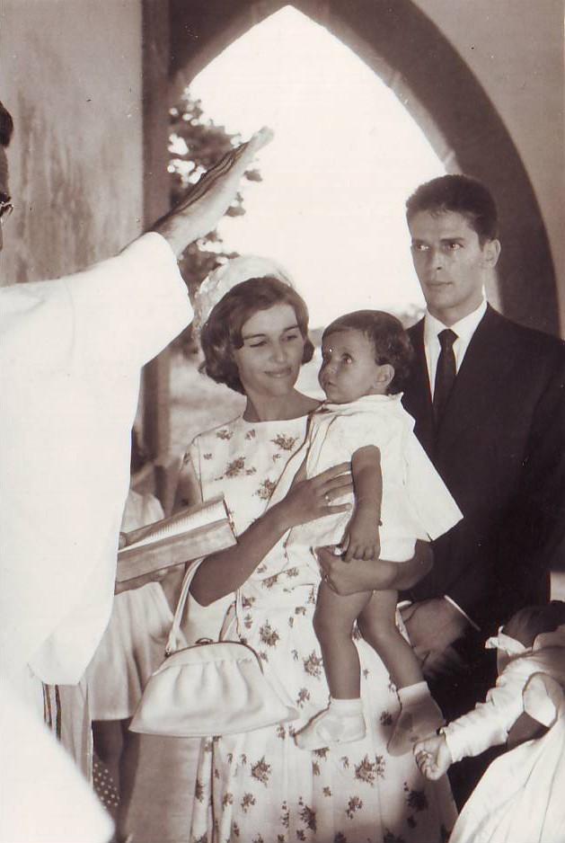 Baptizado do Rui Paulo na Igreja de Motael