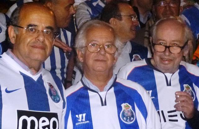 Os irmãos Barbot. Da esq.: - Luís, João e Fernando