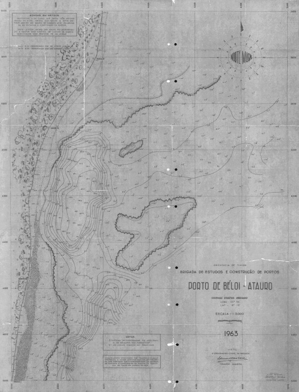 Porto de Béloi - Ilha do Ataúro